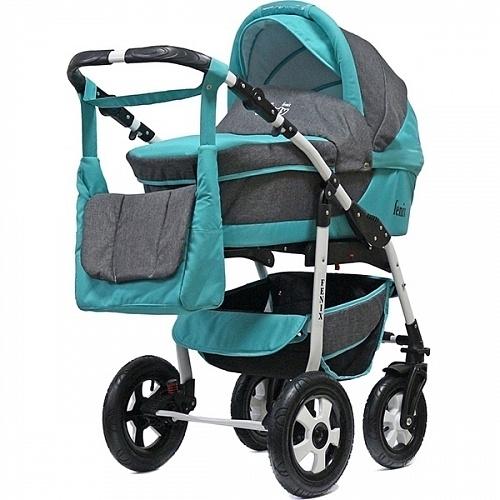 Детская коляска BartPlast Fenix Len 2 в 1 - Фото