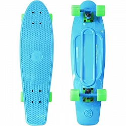 "Скейтборд RT Y-Scoo Fishskateboard 22"" с сумкой арт. 401, 56,6х15"