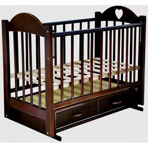 Детская кроватка Ведрусс Таисия 3 маятник поперечный - Фото